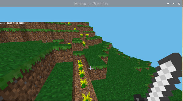 Minecraft Pi TNT 2