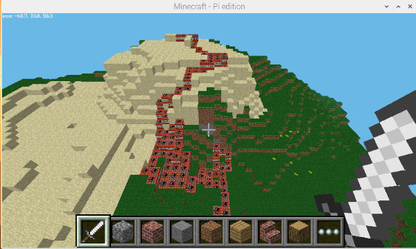 Minecraft Pi TNT 1