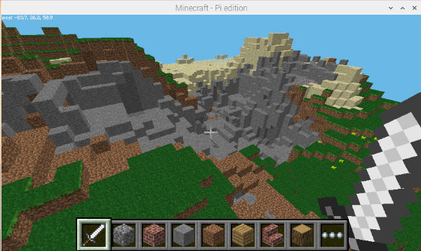 Minecraft Pi TNT 5