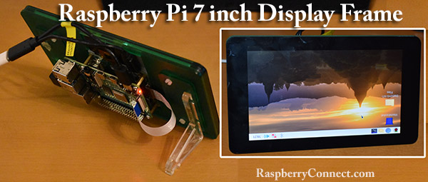 RaspberryPi 7inch DisplayFrame old