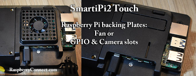 SmartiPi2 Backing Plates Fan GPIO